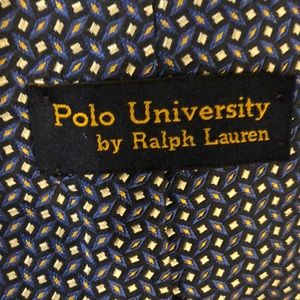 Ralph Lauren great condition blue tie
